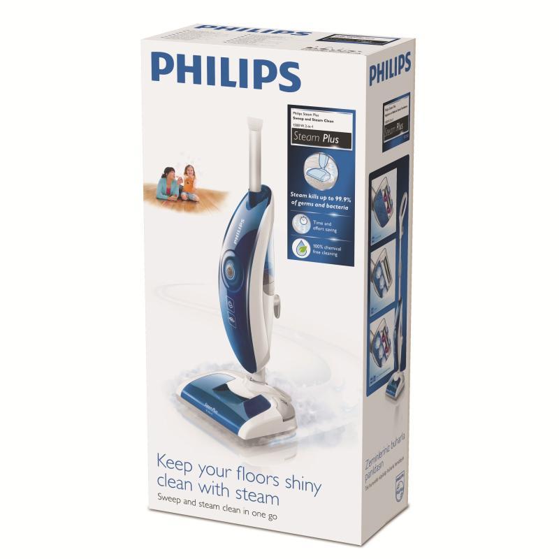 Пароочиститель для пола Philips